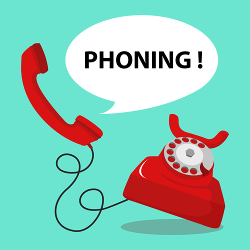 Call center : phoning commercial
