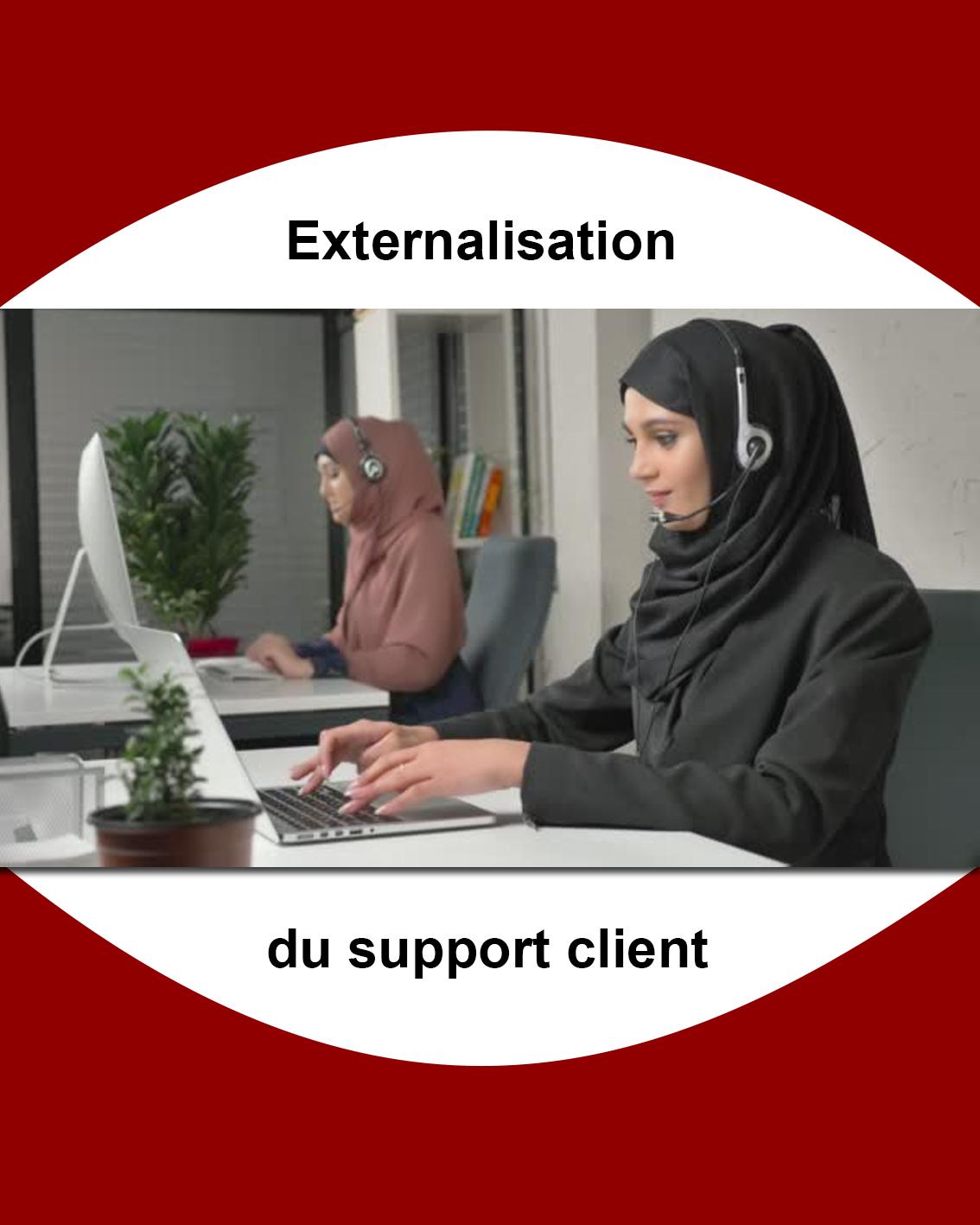 externalisation du support client Tunisie