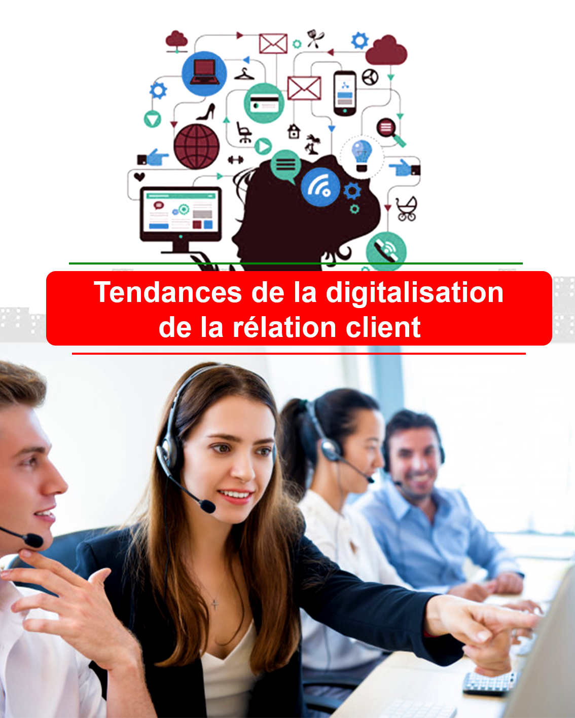 externalisation du support client Tunisie