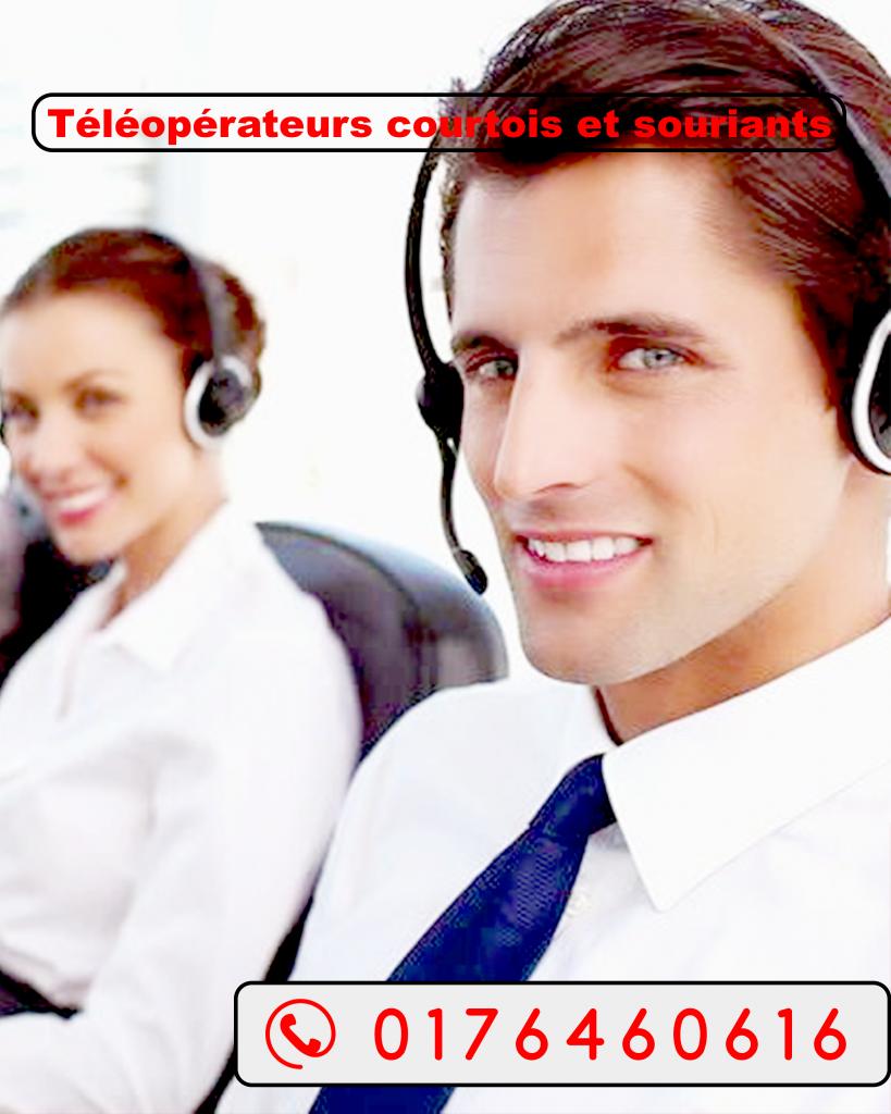 téléconseiller du centre d'appel tunisie