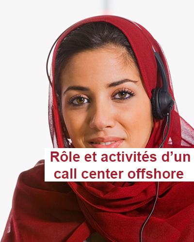 les activités du call center offshore