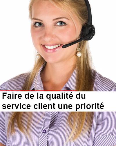 Faire de la qualité du service client une priorité
